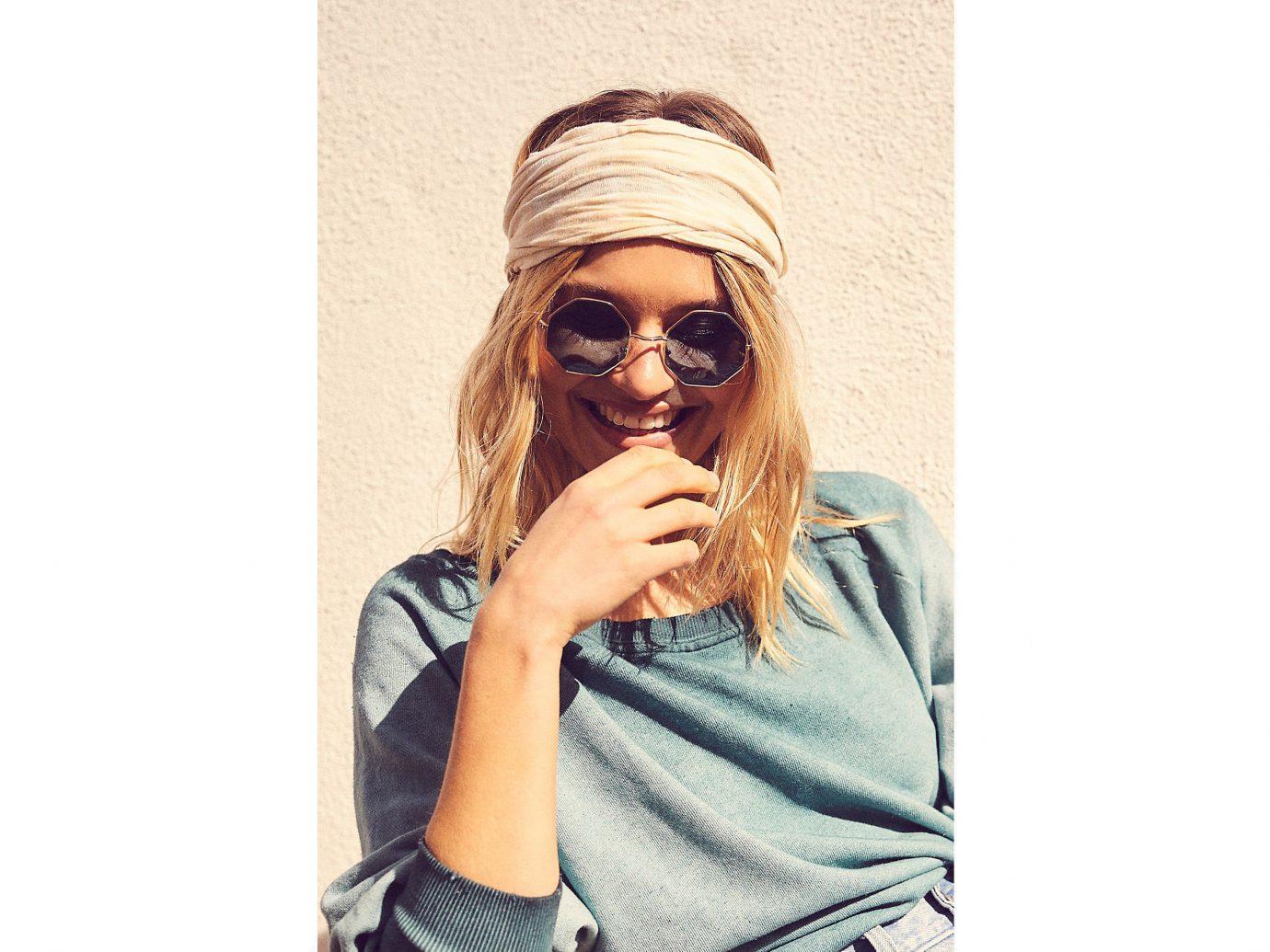 Trip Ideas person eyewear wearing hair accessory headgear fashion accessory vision care sunglasses cap beanie glasses hat