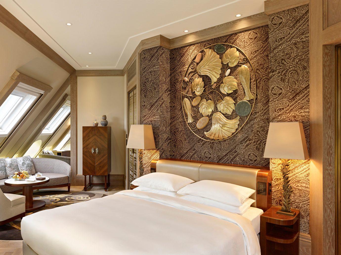 Austria Bedroom europe Hip Hotels Luxury Modern Suite Vienna indoor wall room property estate interior design floor cottage living room real estate mansion