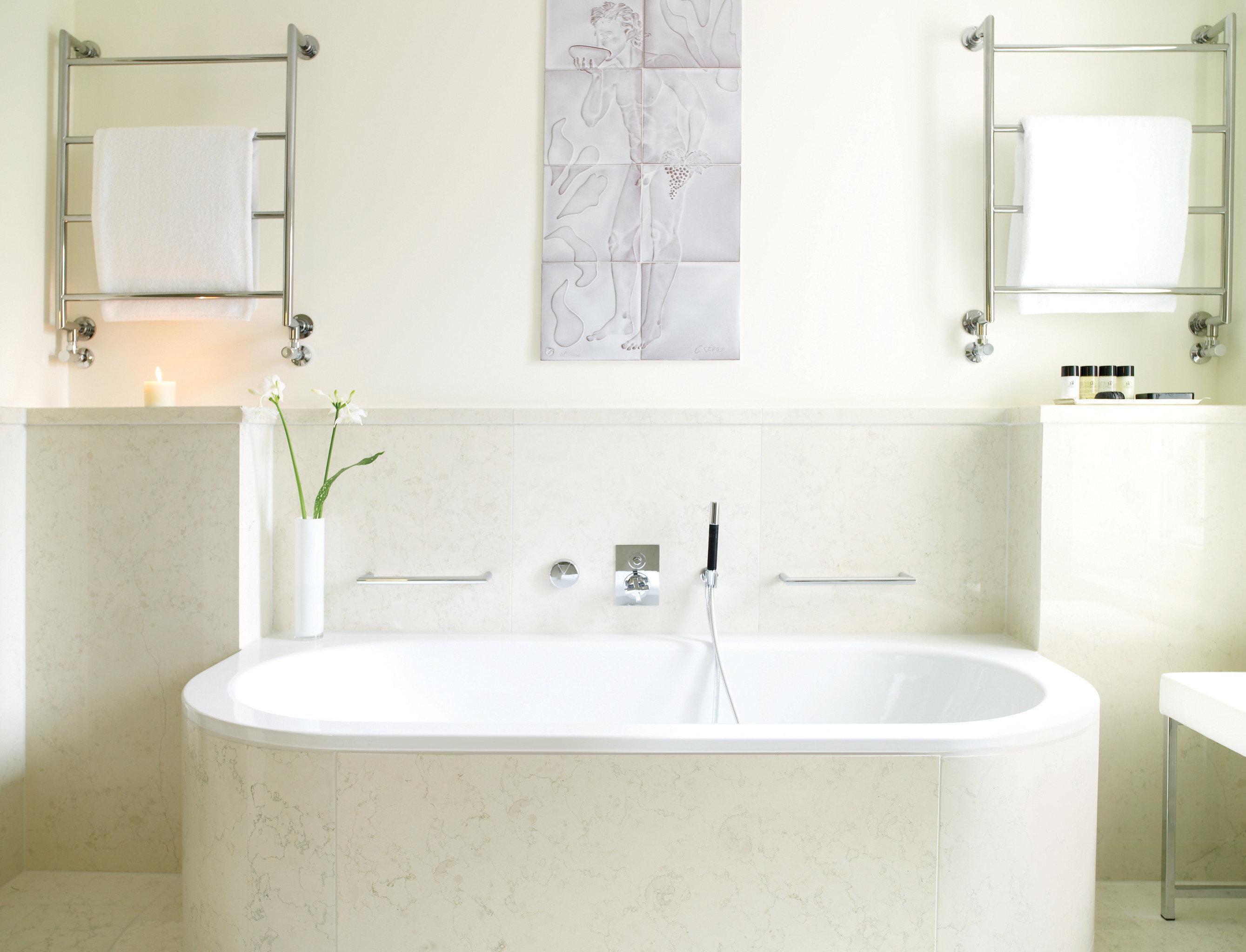 europe Germany Hotels Munich indoor wall bathroom room white vessel bathtub plumbing fixture bidet toilet floor sink interior design bathroom cabinet tub flooring Bath tile water basin tiled