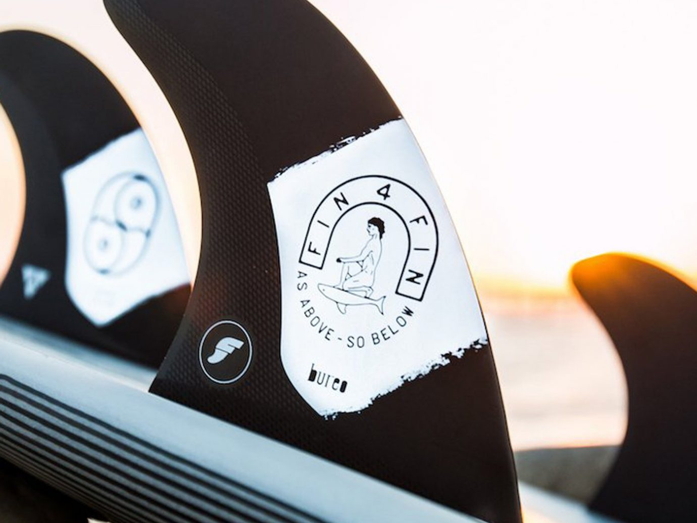 The Lost Explorer X Bureo Surf Fin