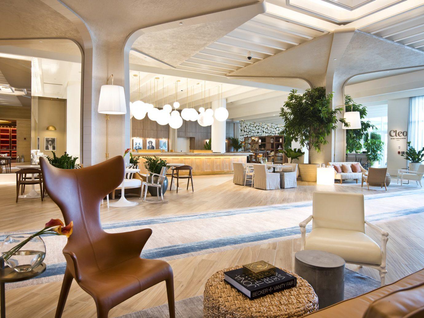 Bahamas caribbean Trip Ideas indoor table floor chair Living room interior design furniture ceiling estate real estate Lobby Resort living room penthouse apartment