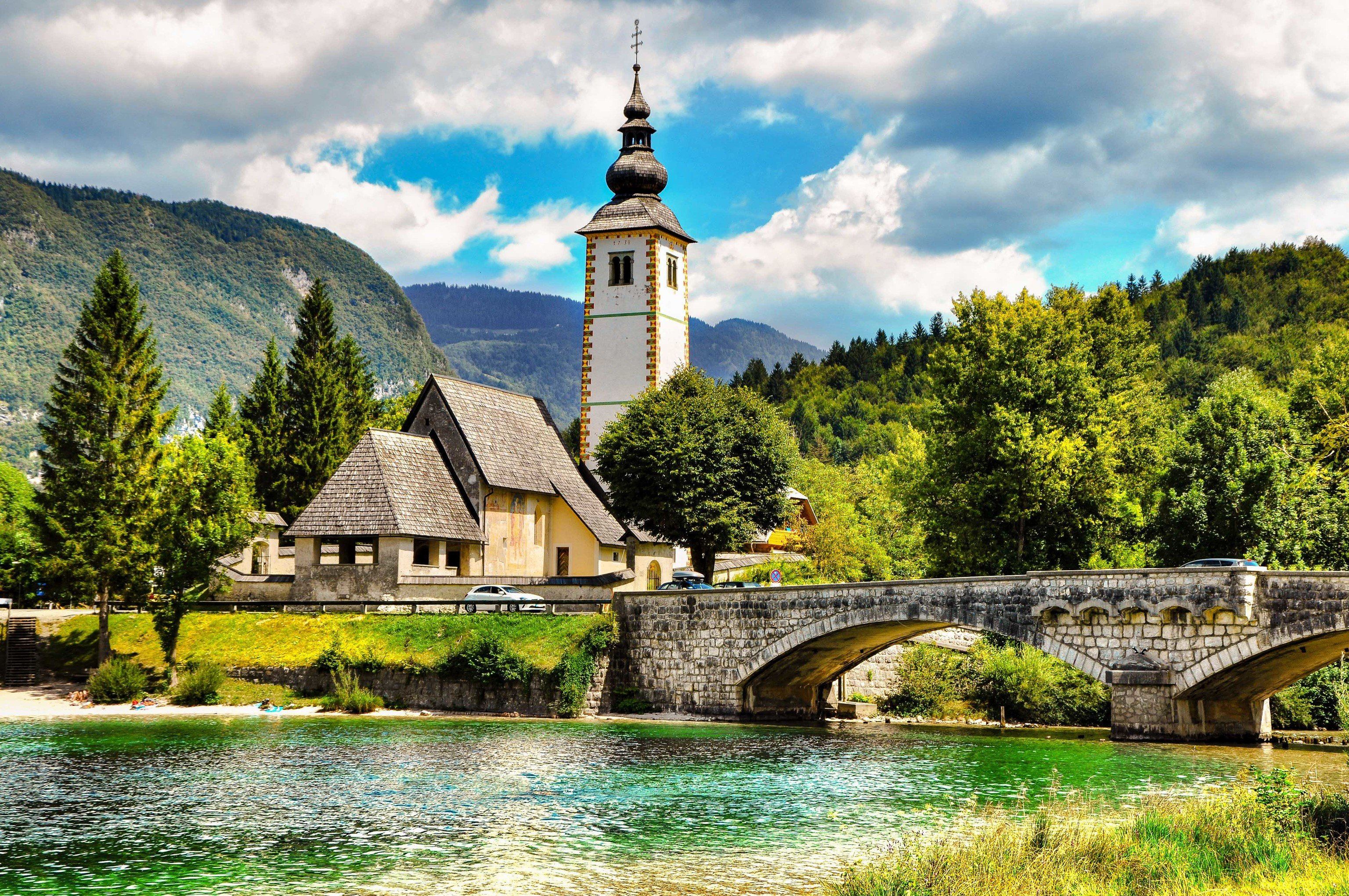Croatia Eastern Europe europe Montenegro Slovenia Trip Ideas Nature sky water tree reflection plant leaf mountain cloud Lake River reservoir mount scenery landscape grass tourism national park watercourse Village mountain range