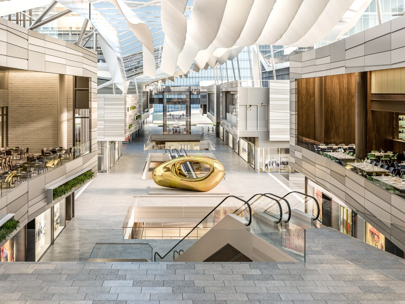 America Trip Ideas Weekend Getaways indoor Lobby Architecture floor interior design headquarters home real estate professional Design facade estate office shopping mall