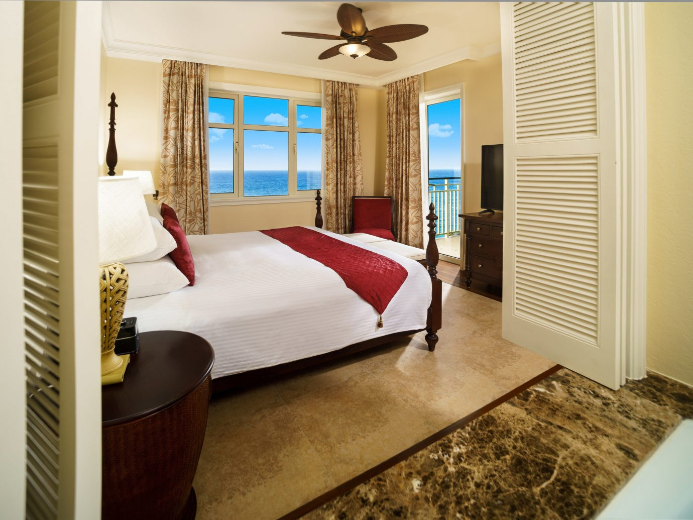 All-Inclusive Resorts caribbean Family Travel Hotels indoor wall floor window room property Bedroom interior design Suite real estate estate ceiling home wood flooring wood hardwood flooring door furniture