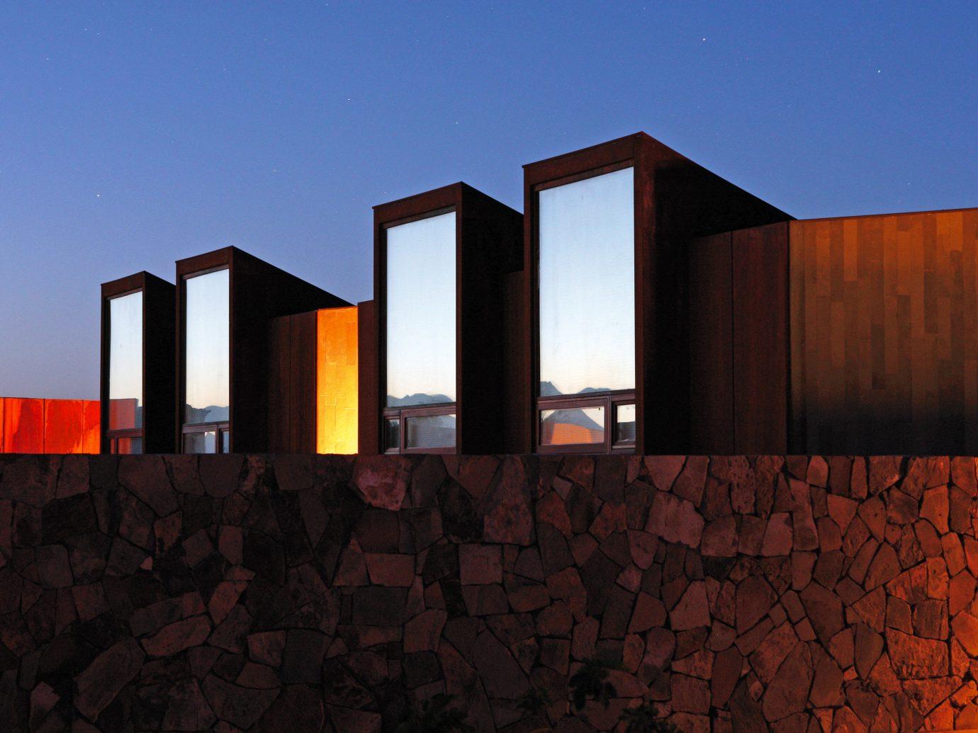 Trip Ideas sky house Architecture building facade wood sunlight orange