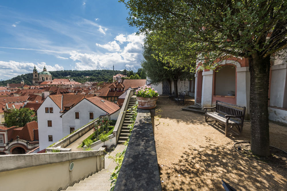 europe Hotels Prague tree ground outdoor property Town neighbourhood house residential area estate home vacation Village real estate waterway Villa Courtyard suburb cottage mansion yard stone