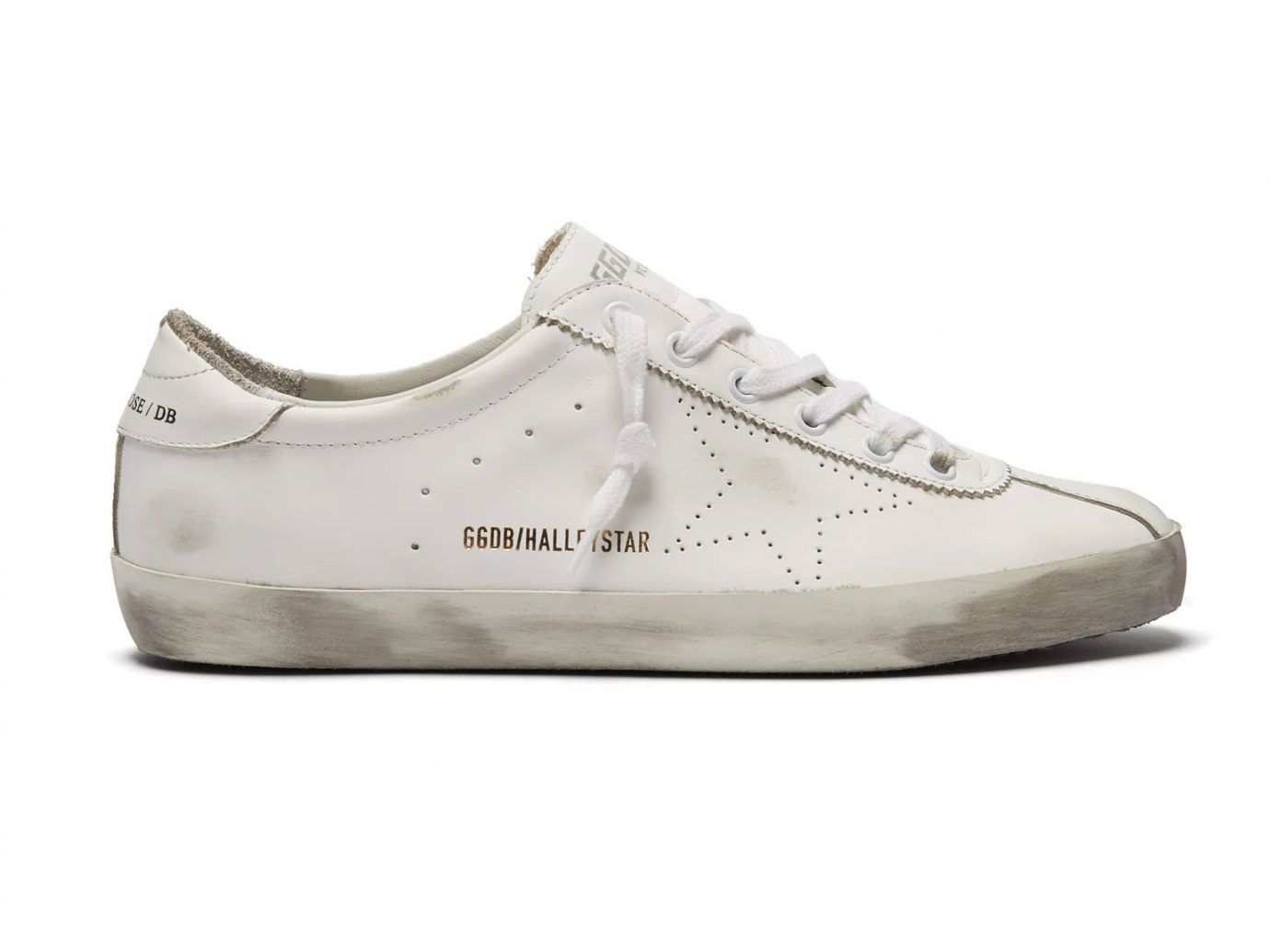 Golden Goose Halleystar low-top leather trainers