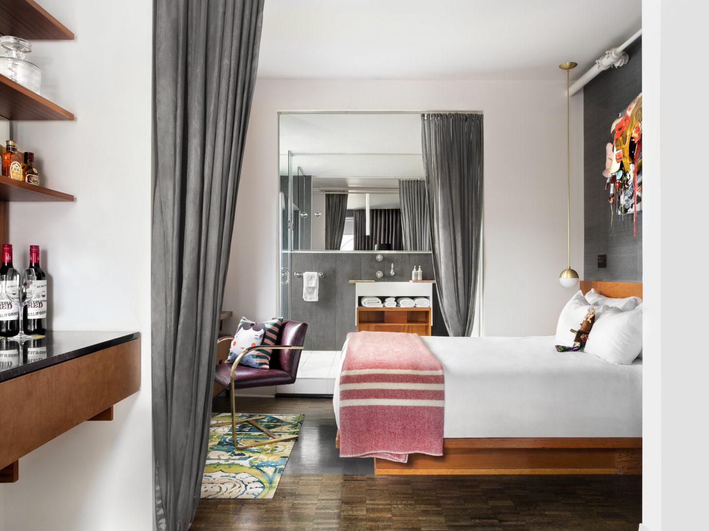 Canada Hotels Toronto indoor wall floor Living room interior design Suite furniture living room home Bedroom shelf interior designer flooring bed window wood