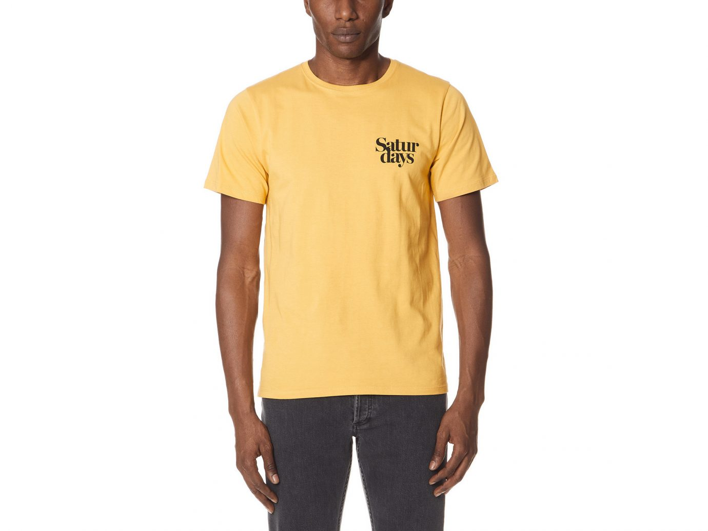 bcea9fff Spring Travel Style + Design Summer Travel Travel Shop man person t shirt  yellow standing sleeve