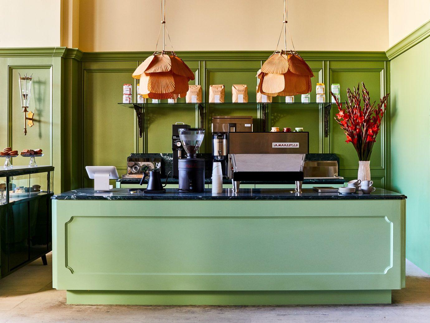 Detroit Influencers + Tastemakers Trip Ideas wall indoor floor furniture room table Living interior design