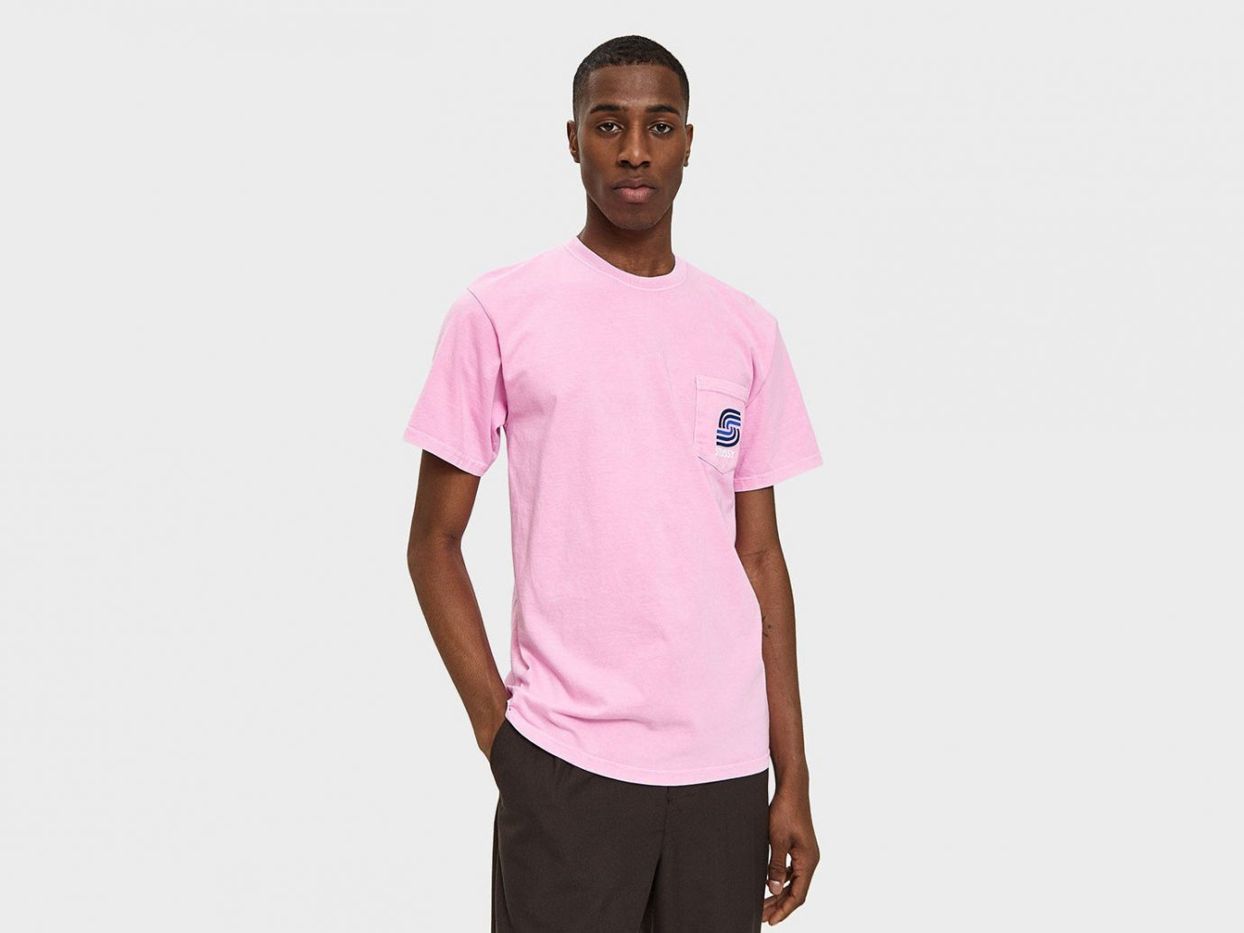 Spring Travel Style + Design Summer Travel Travel Shop t shirt clothing pink white sleeve standing person shoulder magenta neck joint arm sportswear pocket product posing