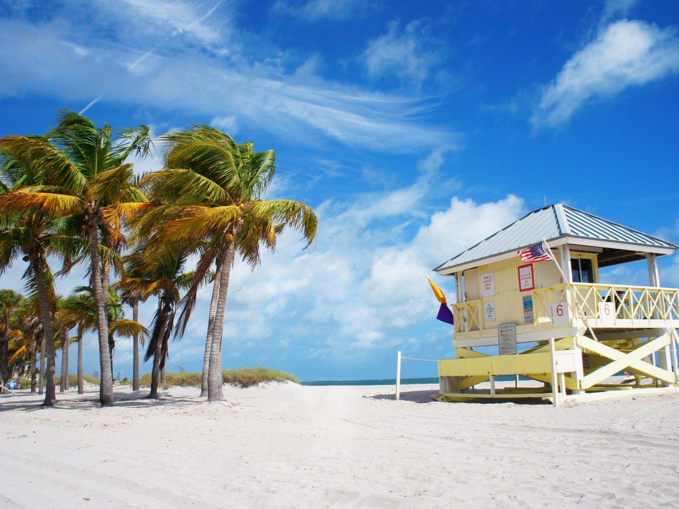America Trip Ideas Weekend Getaways sky outdoor Beach shore Sea body of water Ocean Coast vacation caribbean Resort Island bay vehicle arecales sandy sand tropics day