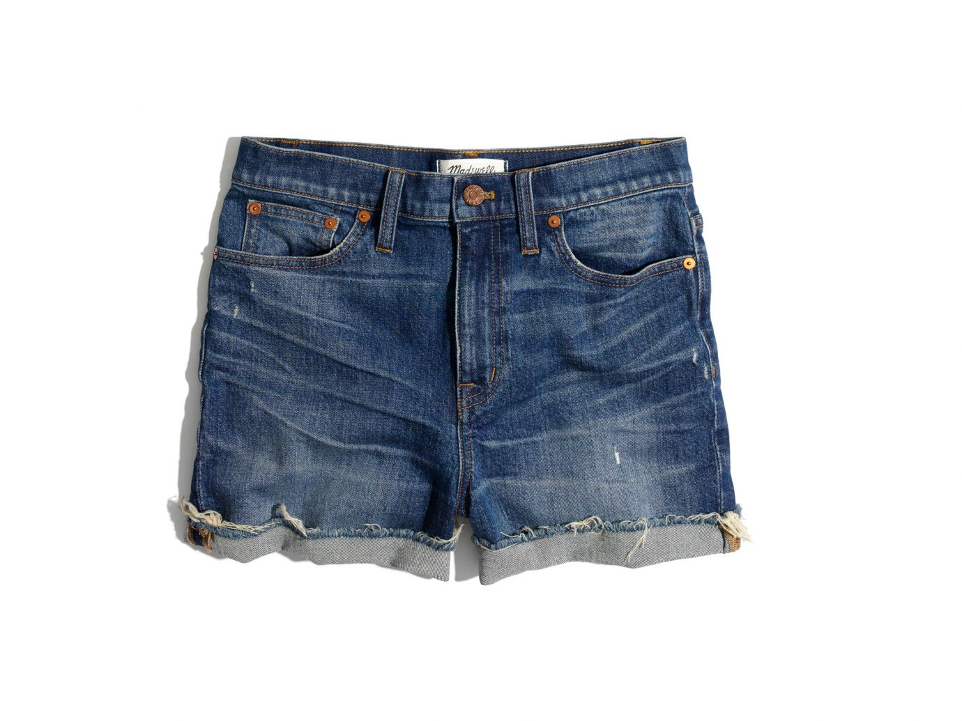 Madewell High-Rise Cuffed Denim Shorts