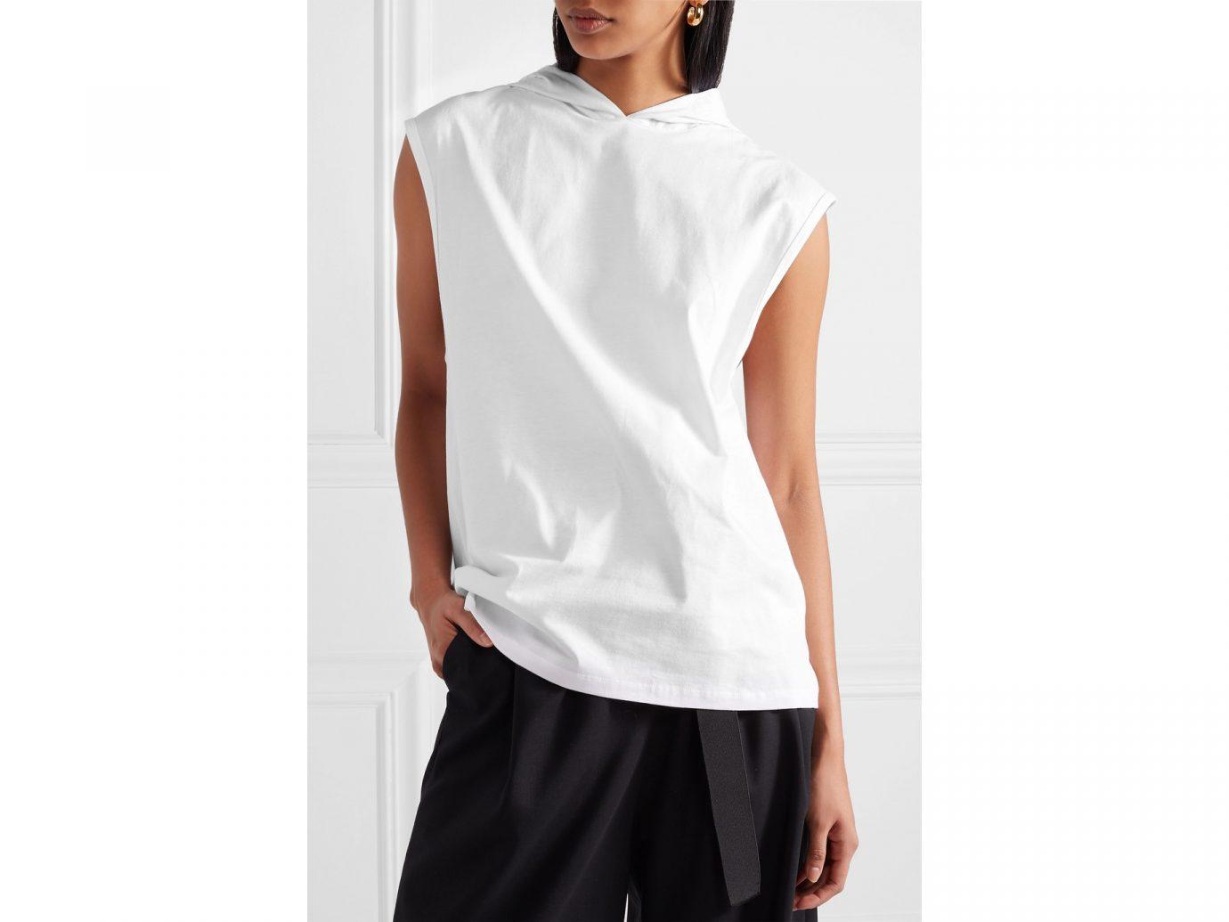 best sweatshirts, Tibi cotton-jersey hooded top