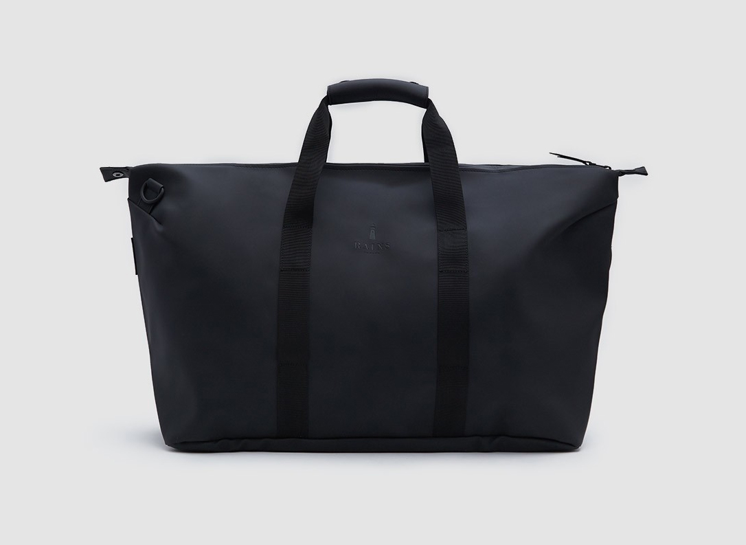 Best Weekend Bags Rains Weekend Bag in Black