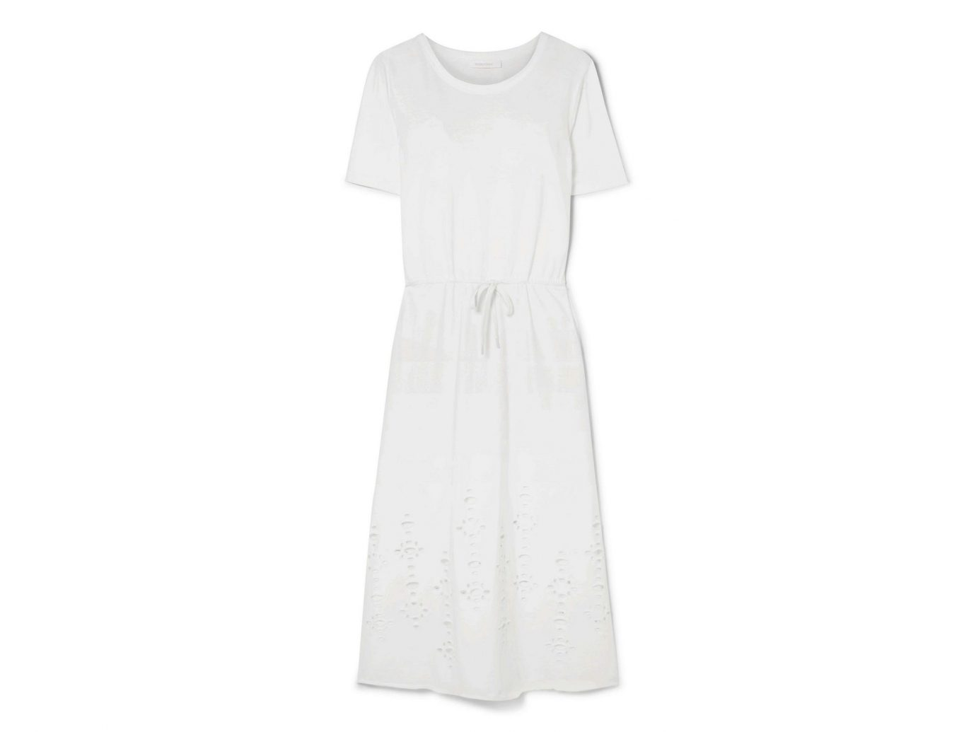 See by Chloé Cutout Cotton-Jersey Midi Dress