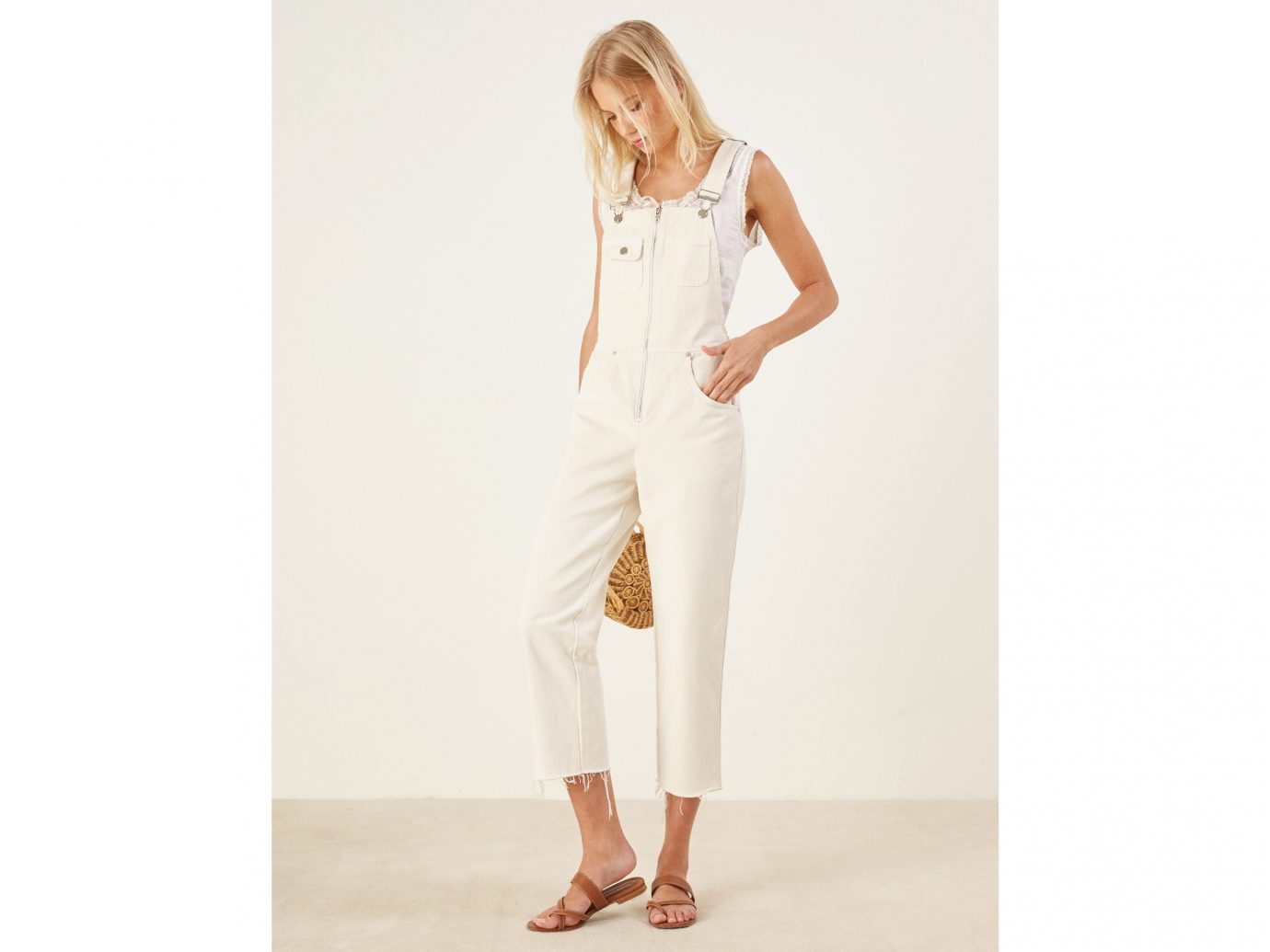 Reformation Benji Overall Best Jumpsuits for summer