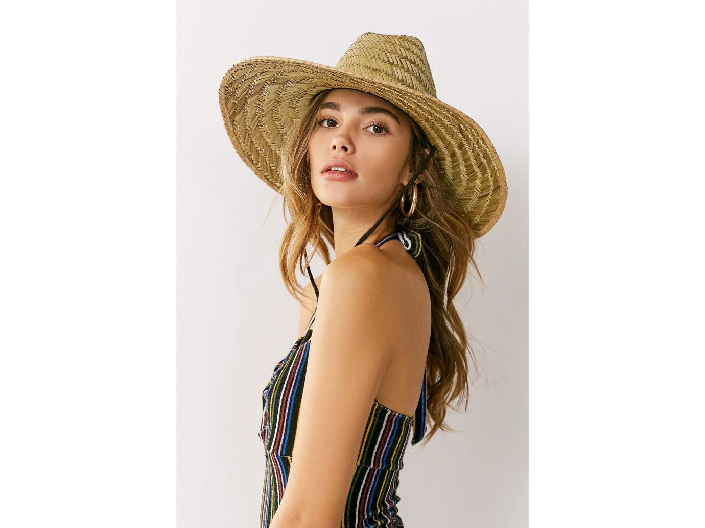 Goldcoast King Rush Straw Lifeguard Hat