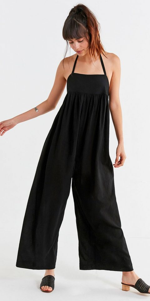 UO Halter wideleg jumpsuit Best Jumpsuits for summer