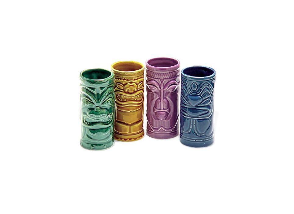 Ceramic Tiki Tumblers