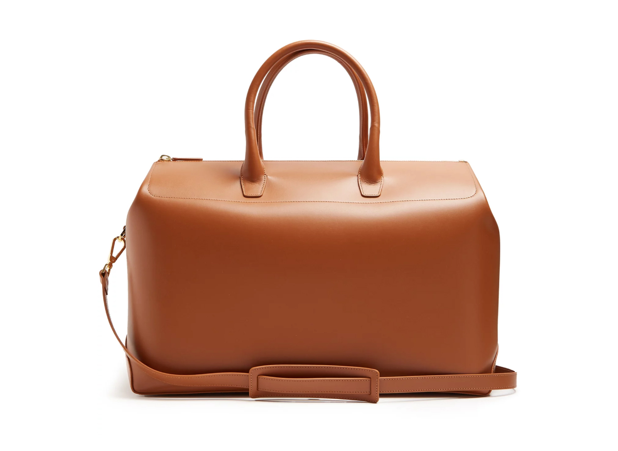 Best Weekend Bags Mansur Gavriel Leather Holdall