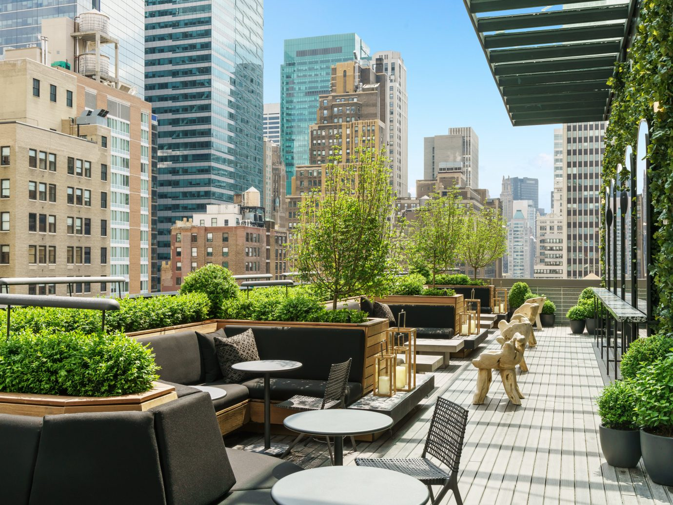The Best Hotel Rooftop Bars in New York City | Jetsetter
