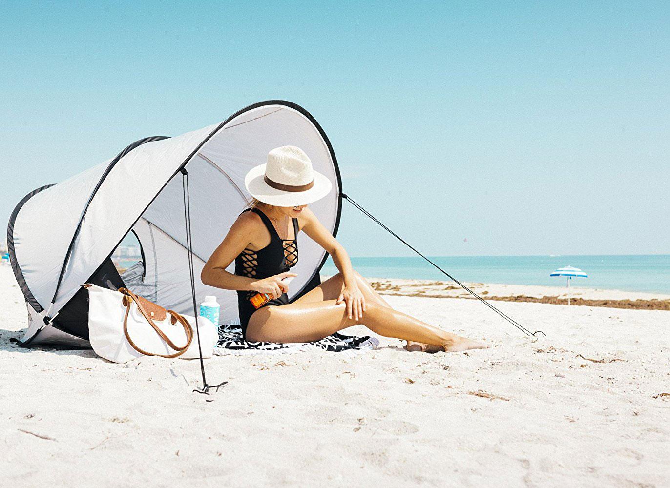 InstaPalm Portable Pop-Up Beach Cabana