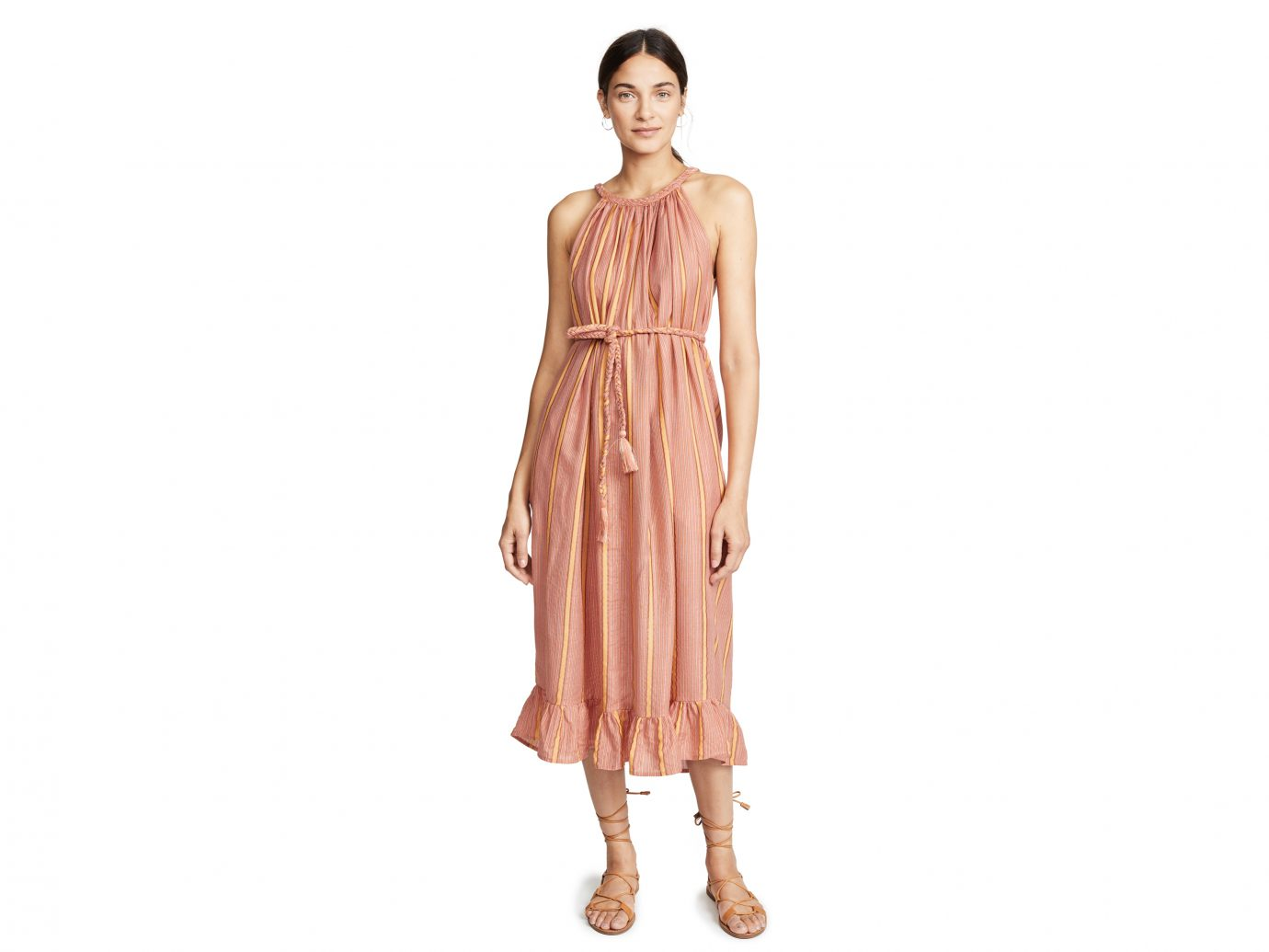 Apiece Apart Caspia Braid Tank Dress