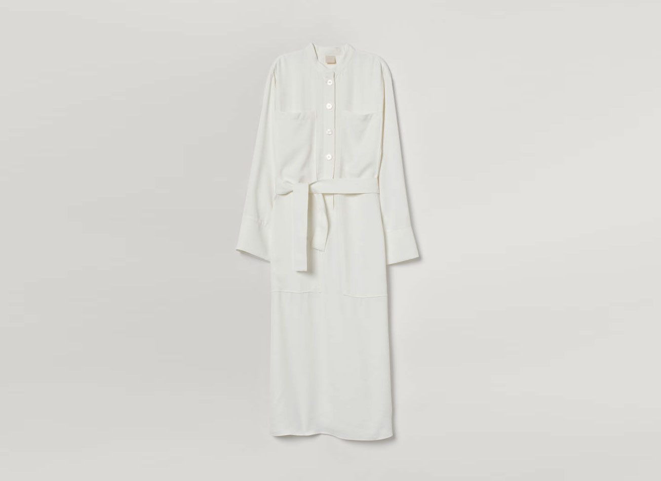 H&M Shirt Dress with Tie Belt