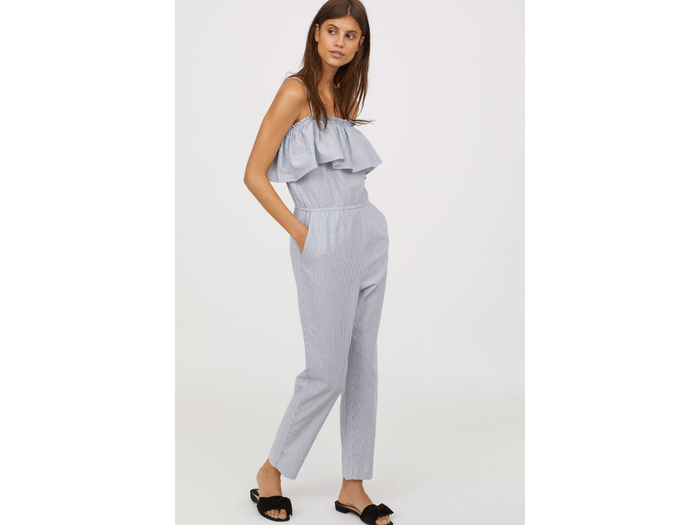 H&M Off-the-shoulder Jumpsuit Best Jumpsuits for summer