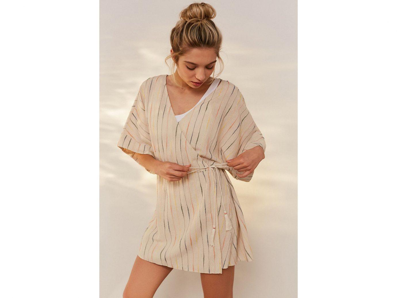 Style + Design Travel Shop clothing outerwear fashion model beige nightwear sleeve neck day dress robe