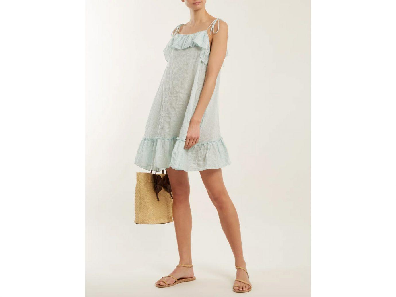 Cute Beach Cover-Ups Loup Charmant Porto Striped Cotton Dress