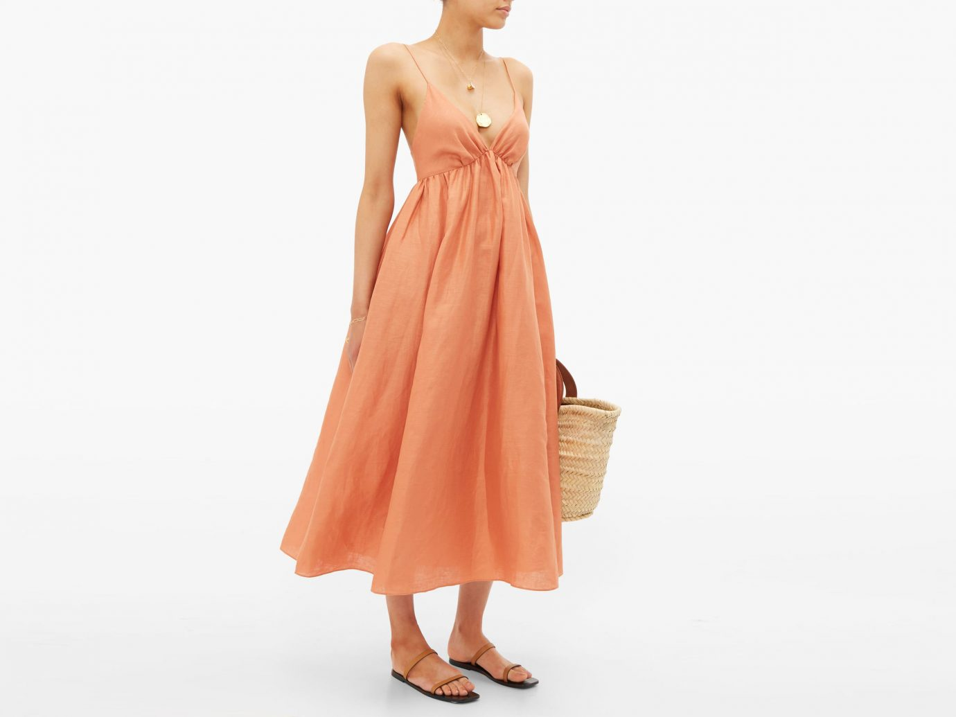 Loup Charmant Adelaide linen maxi dress