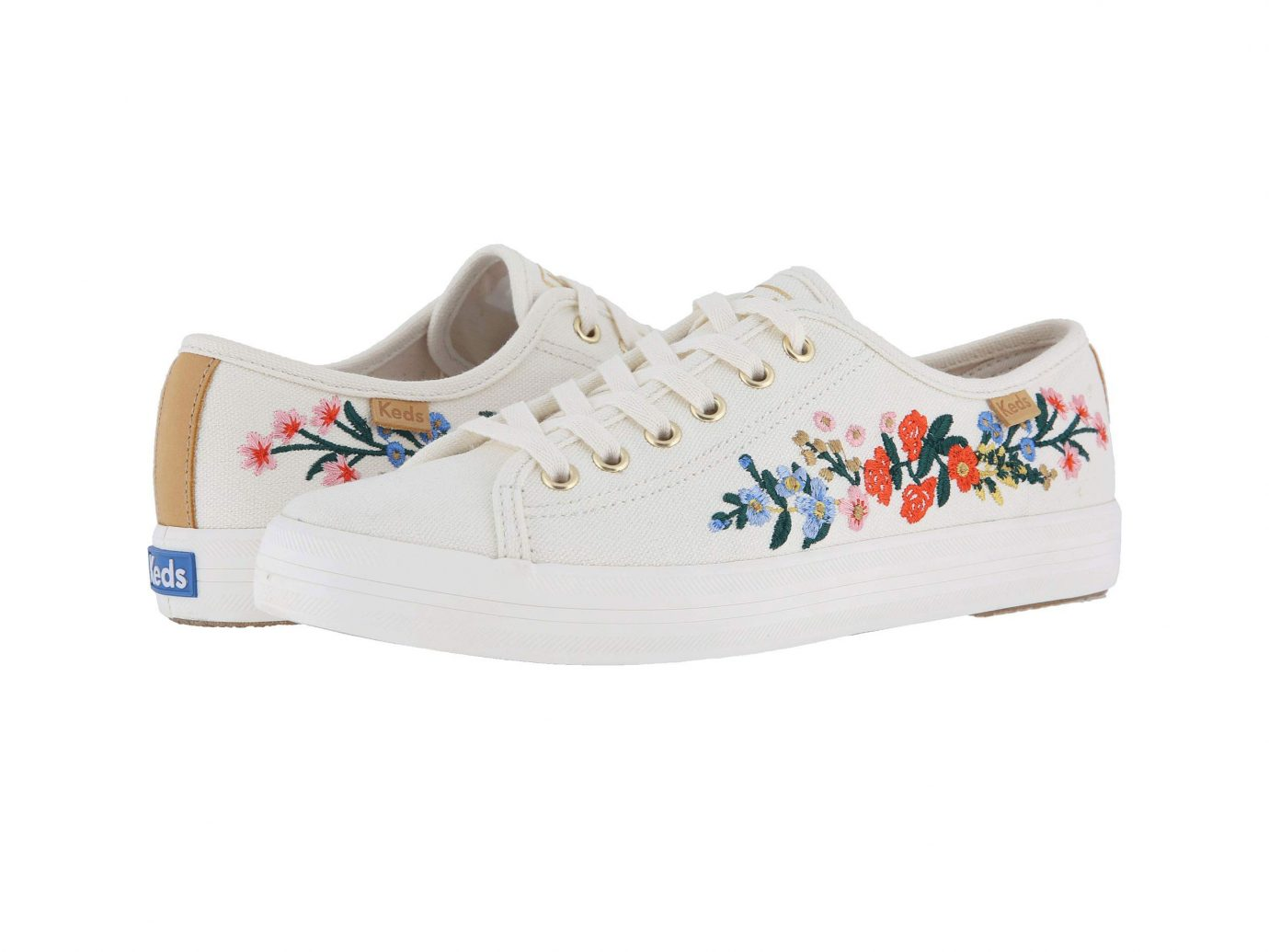Keds x Rifle Paper Co. Kickstart Vines Embroidery Sneaker