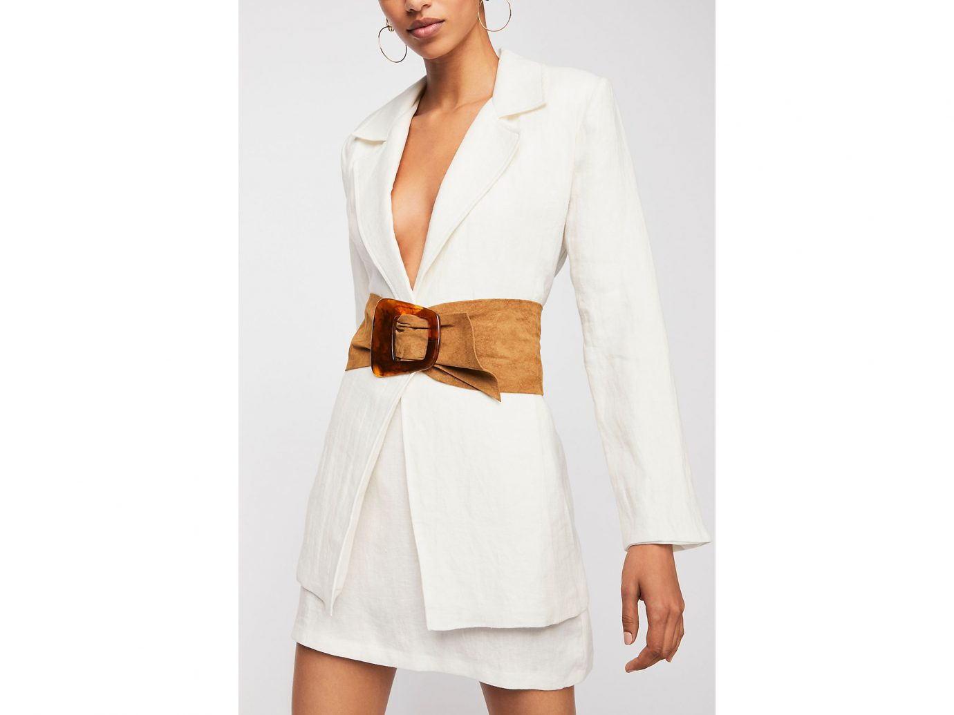 Free People Sissa Tort Wrap Belt