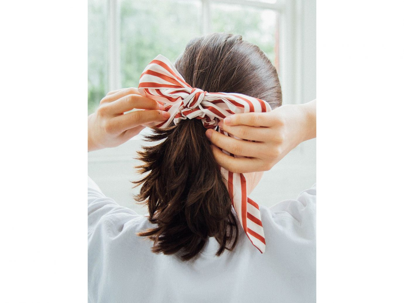 Darling Draped Bow Scrunchie
