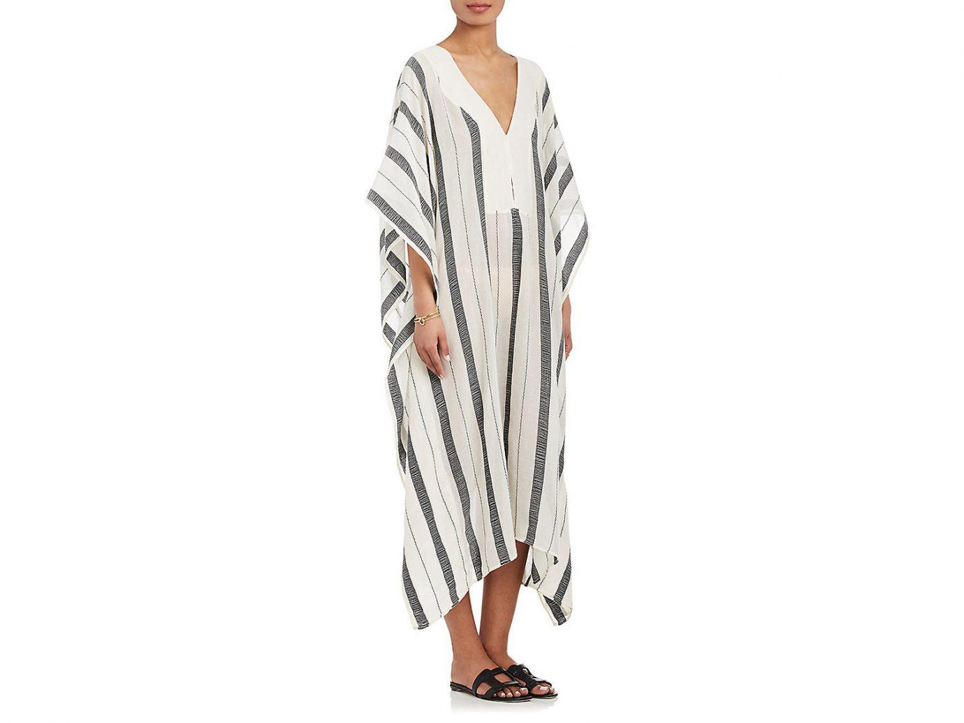 SU Banyan Striped Cotton Kaftan