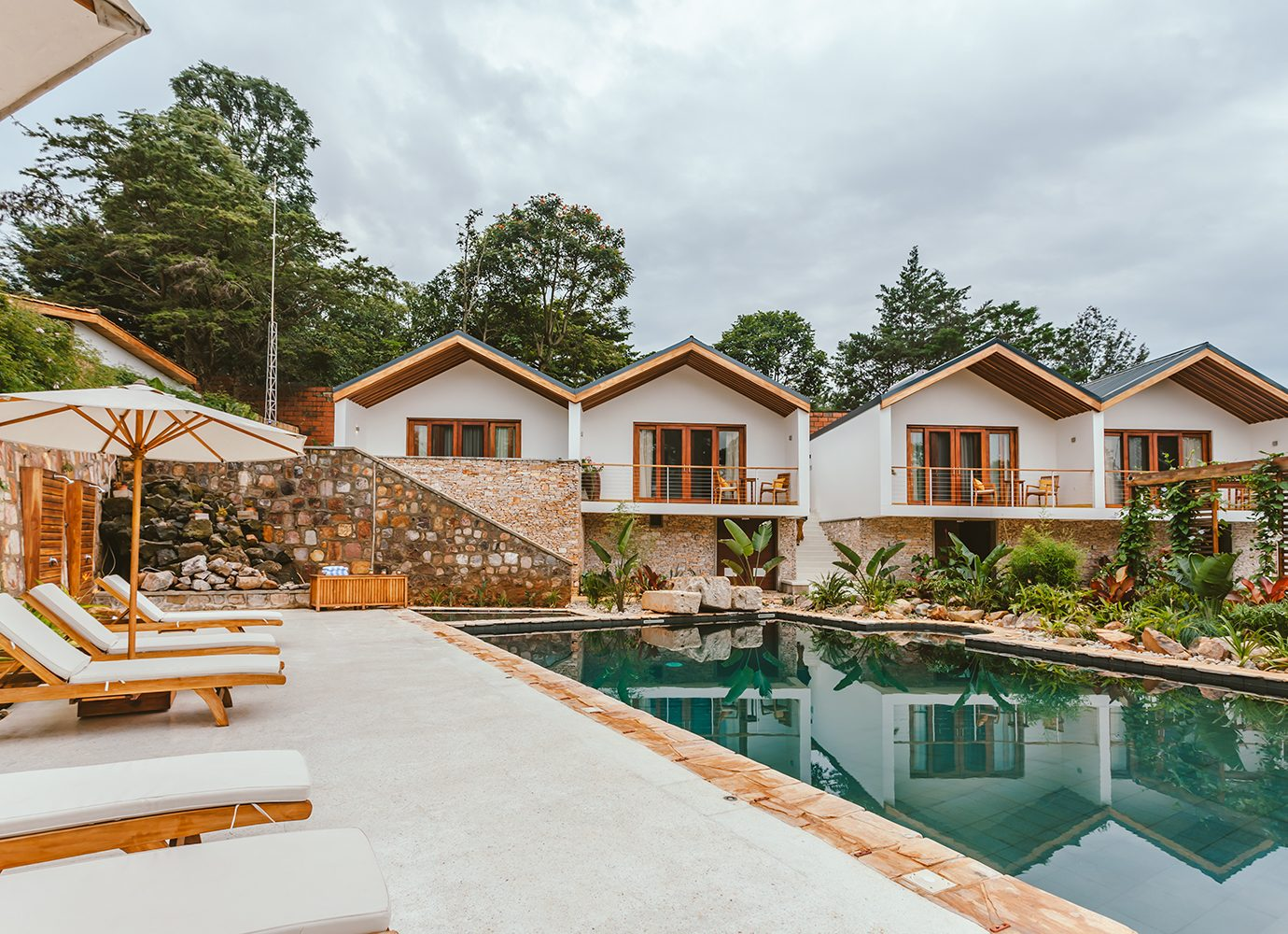 The Retreat at Heaven Rwanda pool