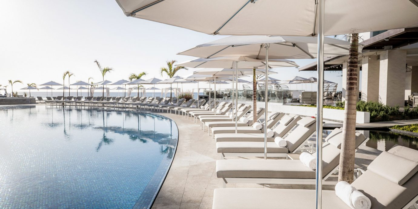 Adult-only All-Inclusive Resorts Cancun Hotels Mexico Architecture Resort swimming pool leisure water condominium leisure centre roof daylighting