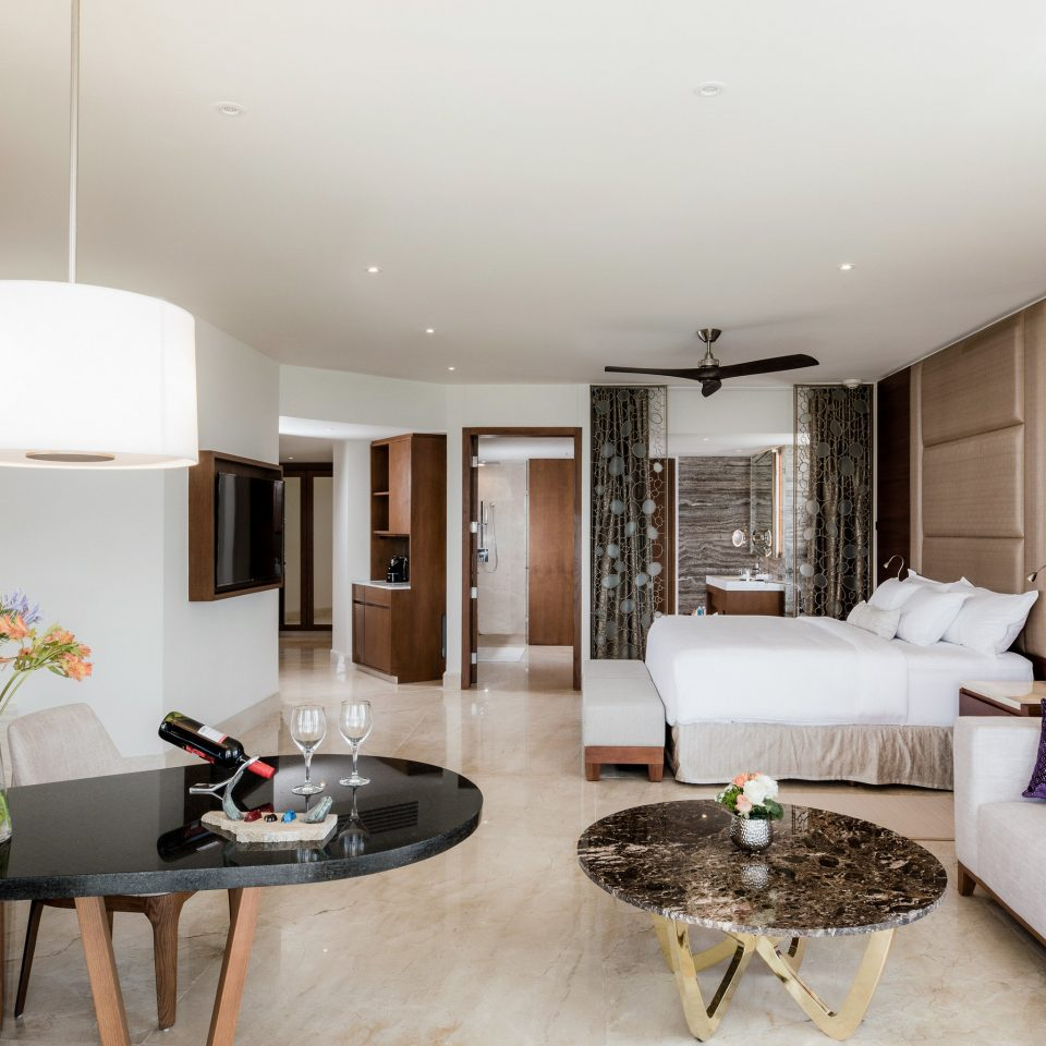 Adult-only All-Inclusive Resorts Cancun Hotels Mexico living room Suite interior designer penthouse apartment house flat