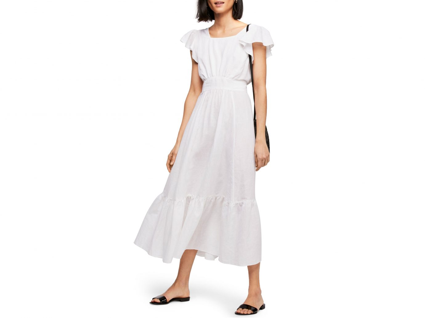 Free People Endless Summer Takin' a Chance Midi Dress