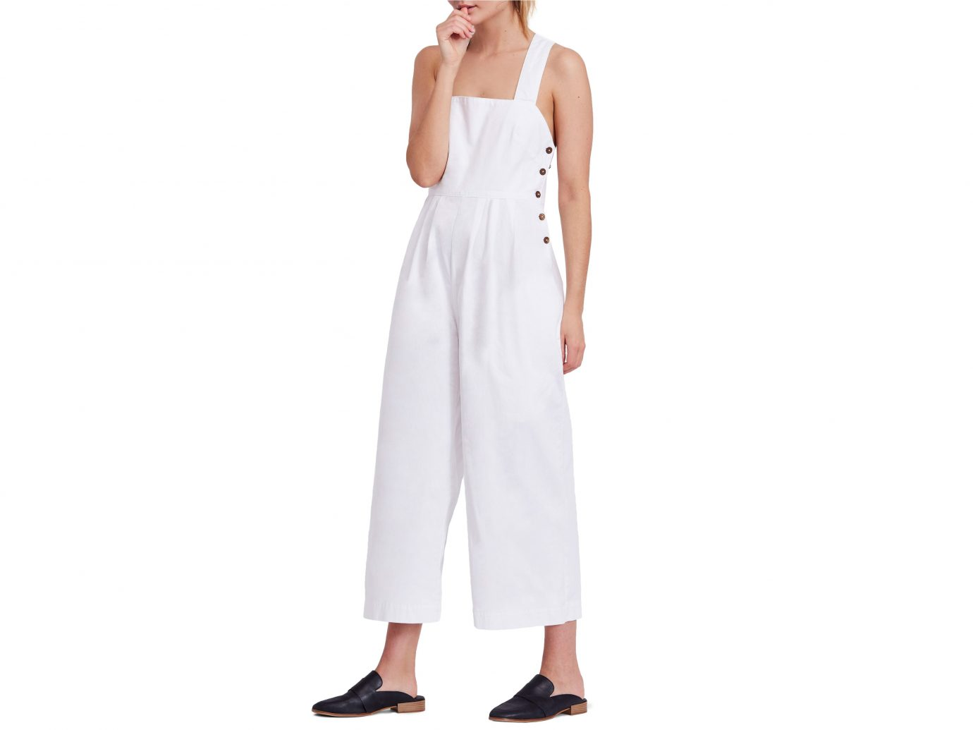 Free People Fara Cotton Jumpsuit