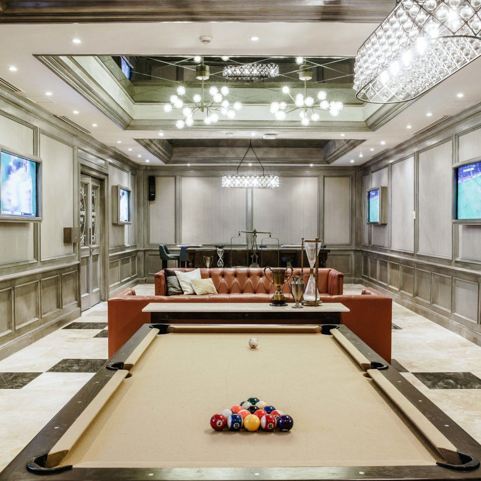 billiard room recreation room Lobby conference hall