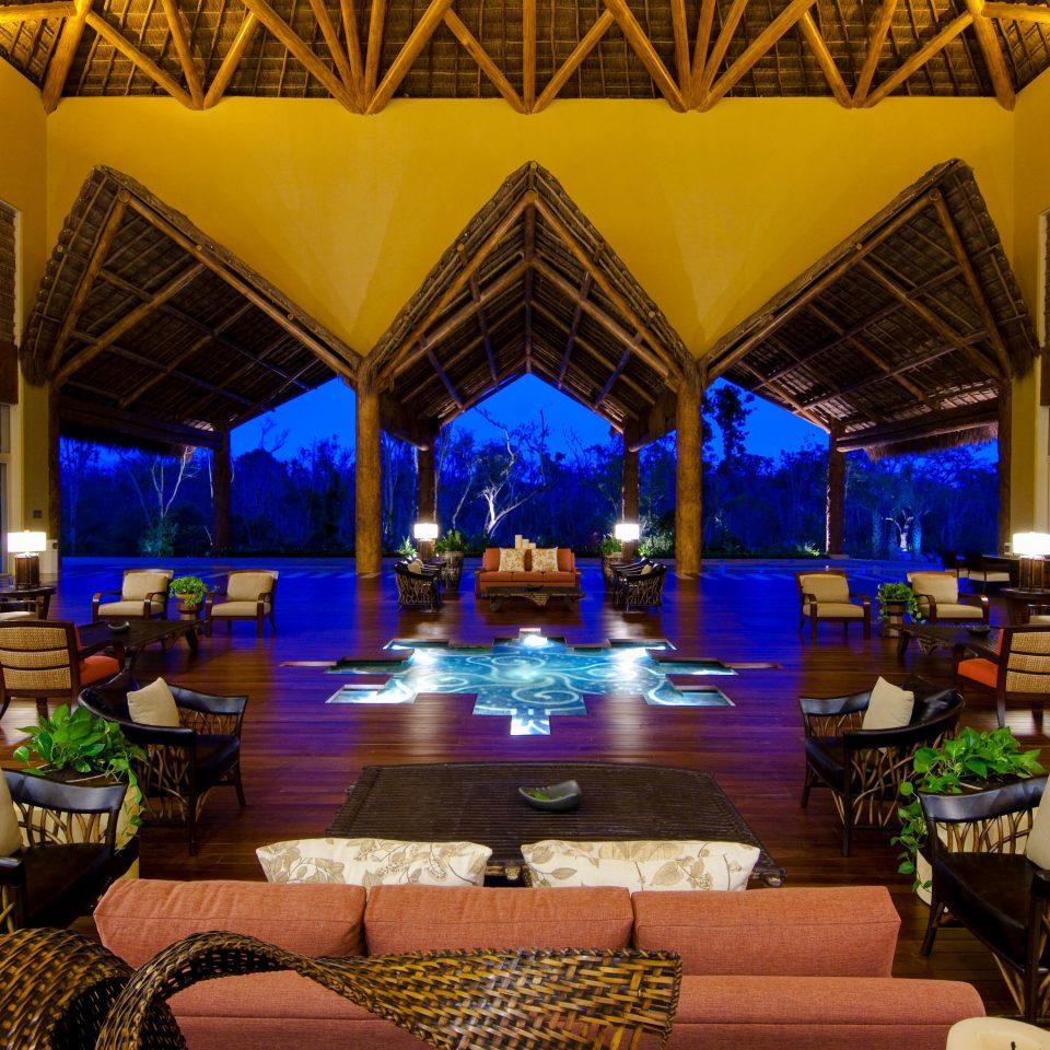 Resort function hall Lobby leisure hacienda