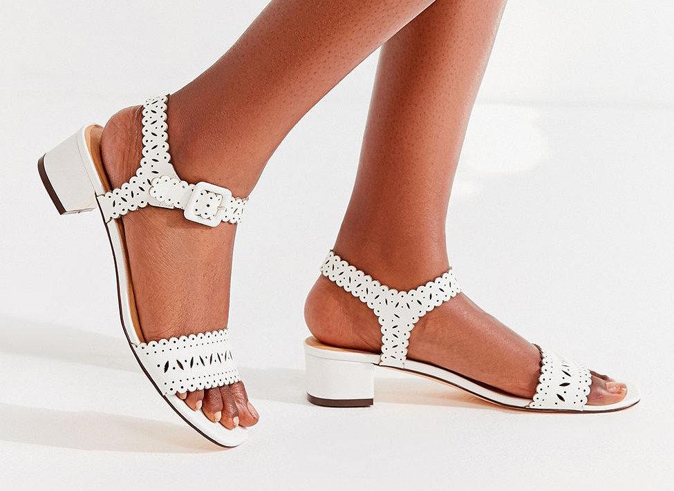 Mara Laser-Cut Sandal