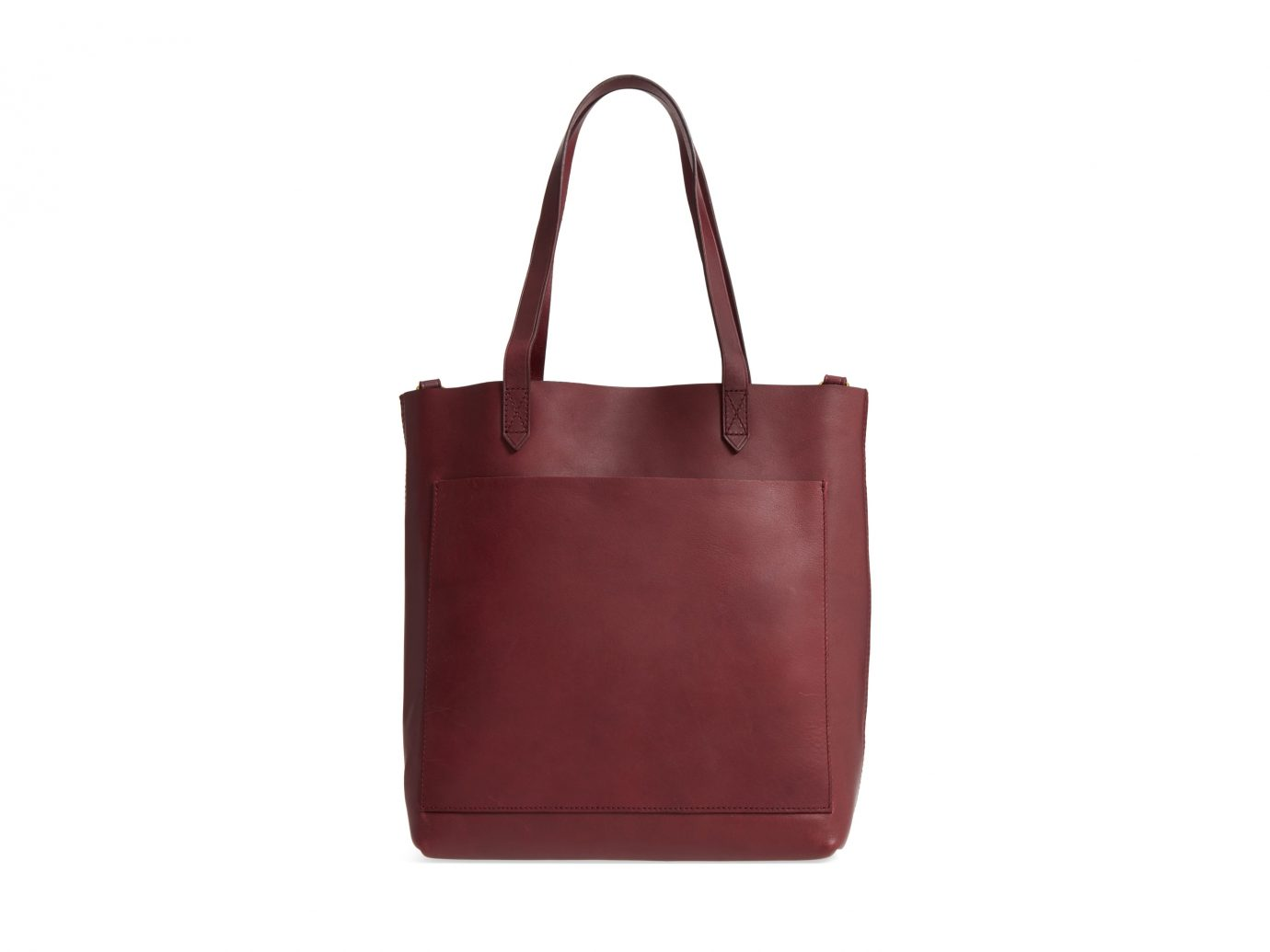Madewell tote in Cabernet