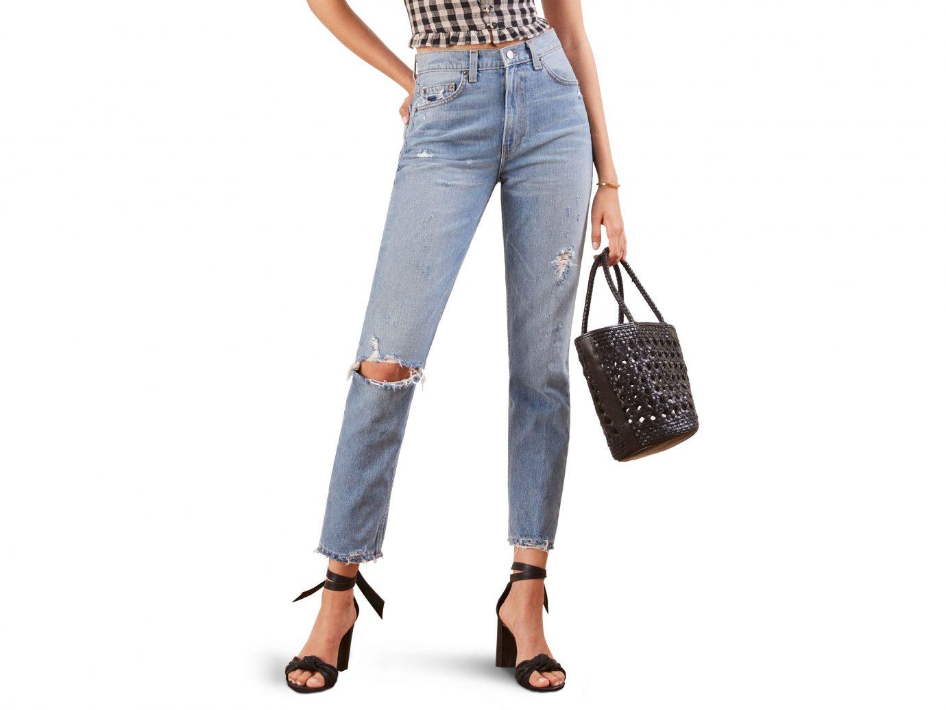 Reformation Julia High Waist Cigarette Jeans