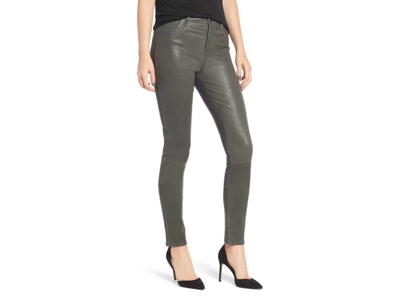 'Maria' Lambskin Leather Leggings, Main, color, Granite'Maria' Lambskin Leather Leggings, Main, color, Granite 'Maria' Lambskin Leather Leggings J BRAND