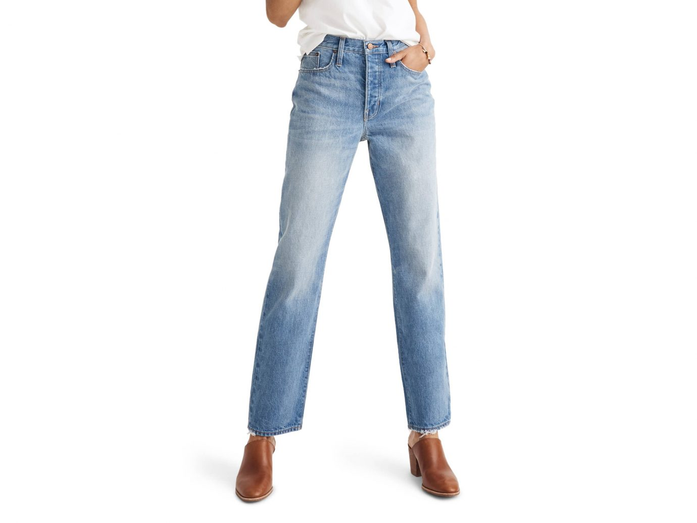 • Madewell The Dadjean High Waist Jeans in Dustin