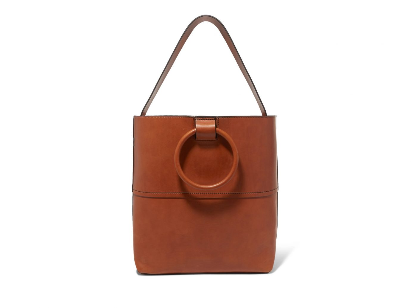 Theory Hoop Leather Tote